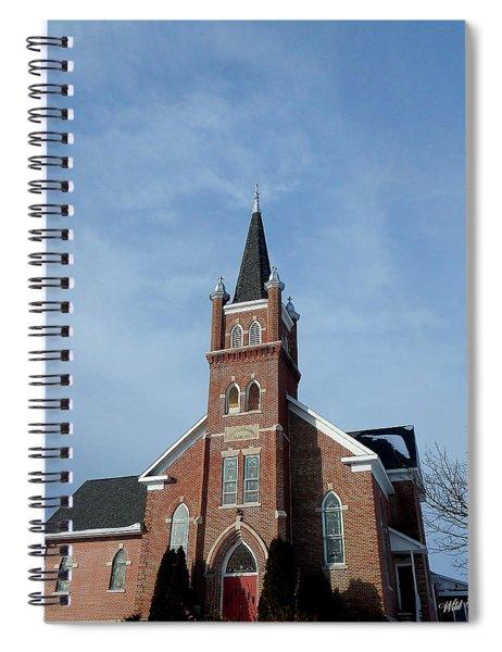 Lift Up Spiral Notebook