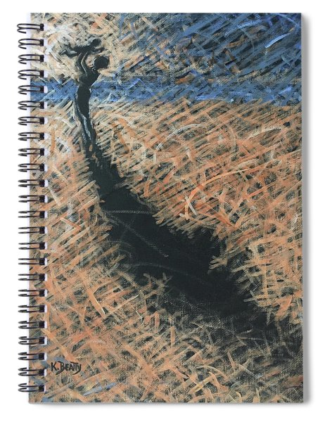 Lifting Into The Light Spiral Notebook