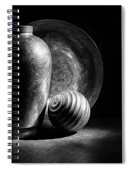 Light And Shadows Spiral Notebook