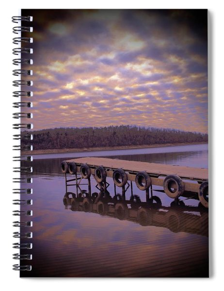 Light And Water Spiral Notebook