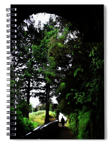 Light At The Last Spiral Notebook