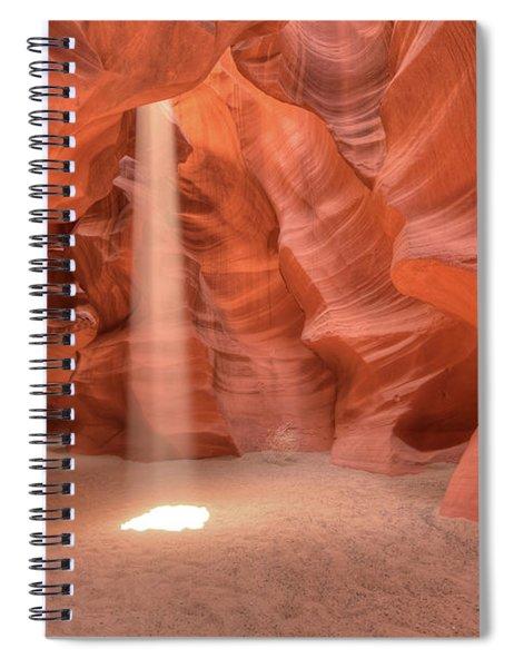 Beam Of Light Spiral Notebook