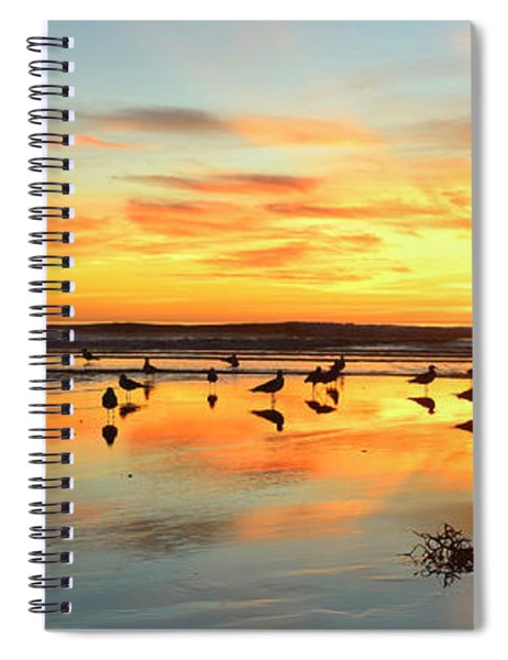 Light Dance North County Spiral Notebook