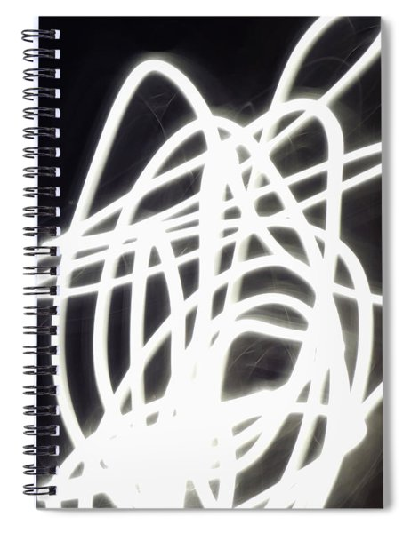 Light Dancer Spiral Notebook