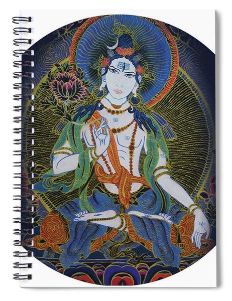 Light Giving Shiva  Spiral Notebook