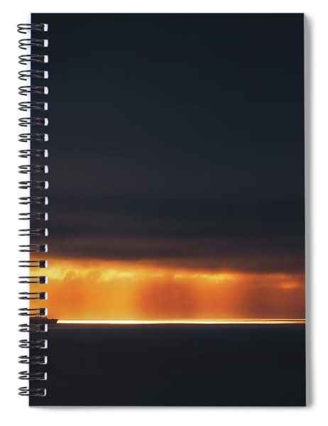 Light Highway Spiral Notebook