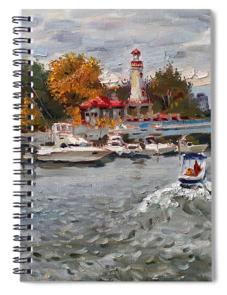 Light House Mississauga Spiral Notebook