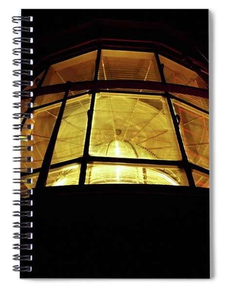 Light In The Dark Sky Spiral Notebook