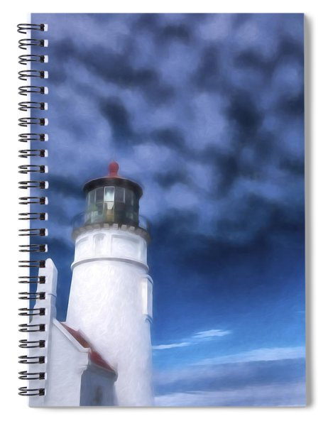 Light In The Sky II Spiral Notebook