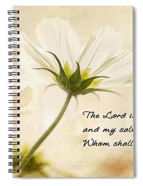 Light Spiral Notebook