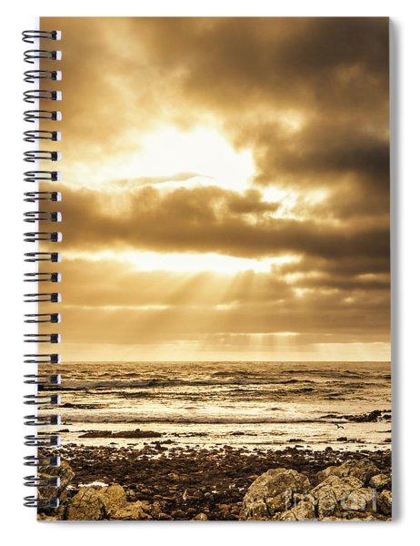 Light Of Dusk Spiral Notebook