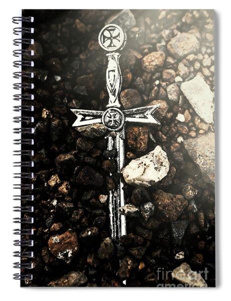 Light Of Mythology Spiral Notebook