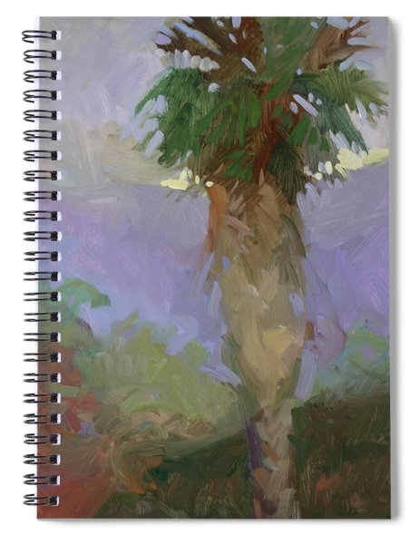 Light On Yonder Hill  Spiral Notebook