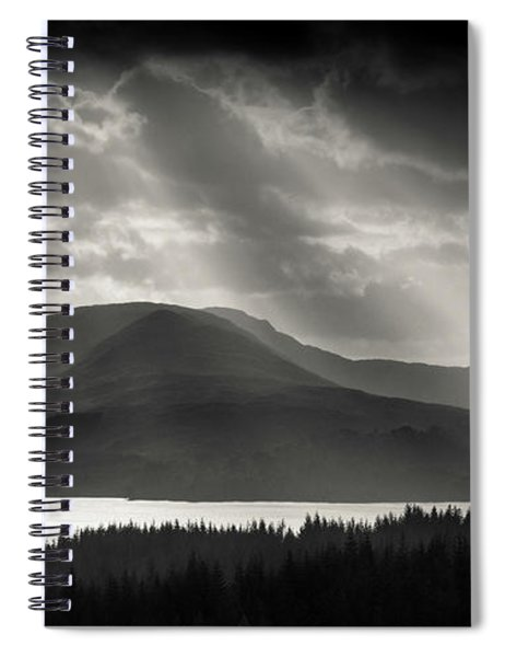 Light Over Loch Tulla Spiral Notebook