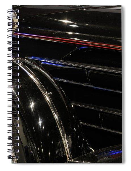 Light Reflection Spiral Notebook