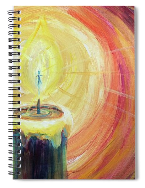 Light Shine Bright Spiral Notebook