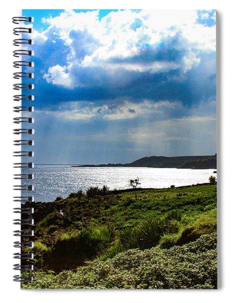 Light Streams On Kauai Spiral Notebook