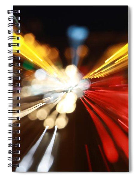 Light Trails Spiral Notebook
