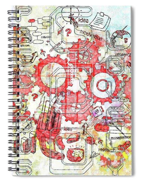 Light United Faith Spiral Notebook