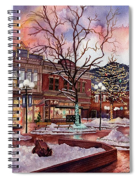 Light Up Heaven And Earth Spiral Notebook