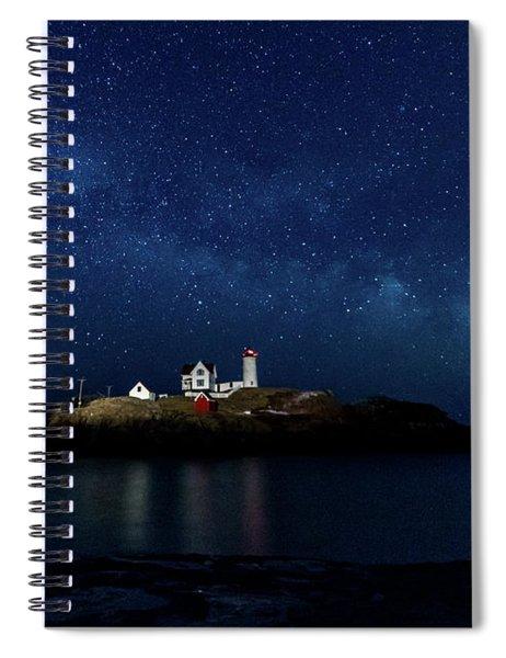 Light Up Nubble Lighthouse Spiral Notebook