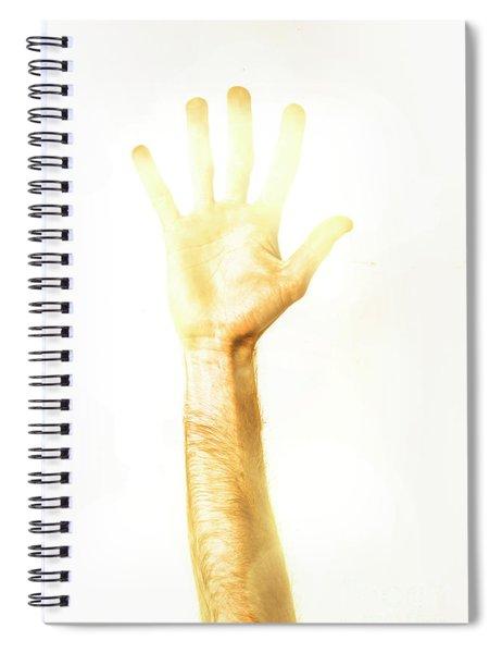 Light Worker Outreach Spiral Notebook