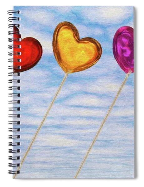 Lighter Than Air Spiral Notebook