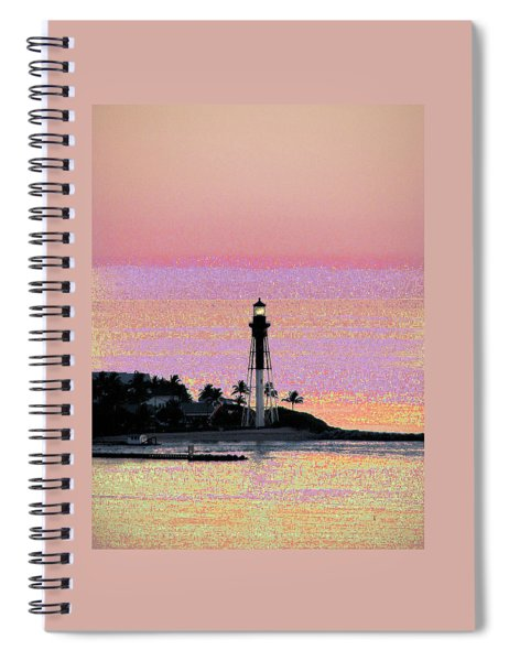 Lighthouse 1005 Spiral Notebook