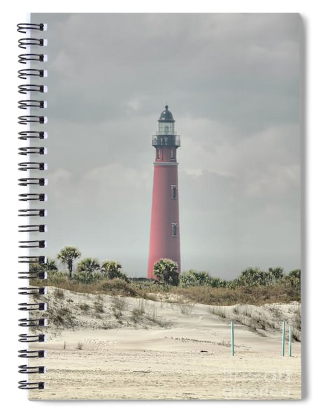 Lighthouse At Ponce Inlet Spiral Notebook