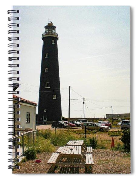 Lighthouse, Dungeness, Kent Spiral Notebook