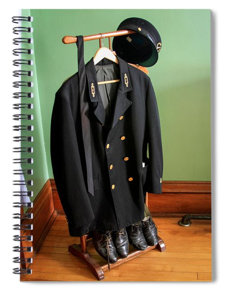 Lighthouse Keeper Uniform Spiral Notebook