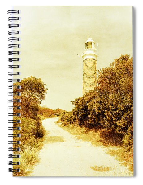 Lighthouse Lane Spiral Notebook