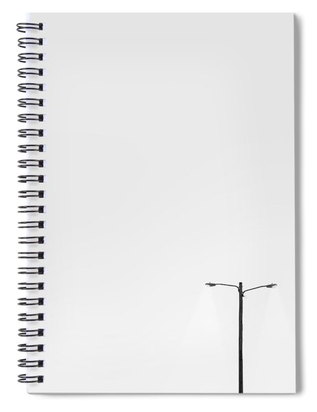 Lighting The Way Spiral Notebook
