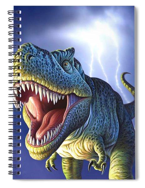 Lightning Rex Spiral Notebook