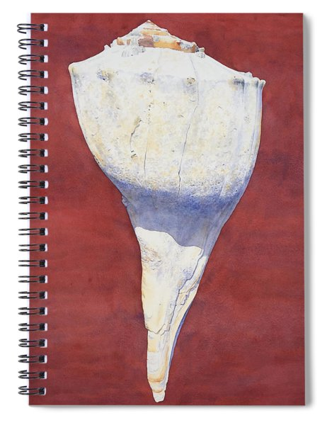 Lightning Whelk Conch II Spiral Notebook
