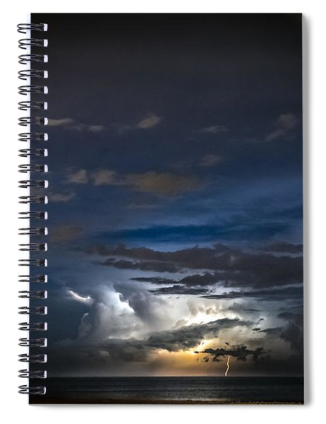 Lightning's Water Dance Spiral Notebook