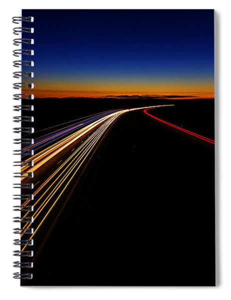 Lights In The Night Spiral Notebook