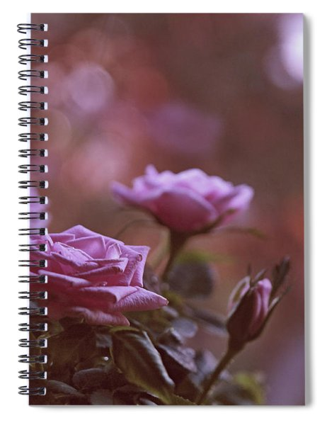 Like A Fine Rosie Of Pastels Spiral Notebook