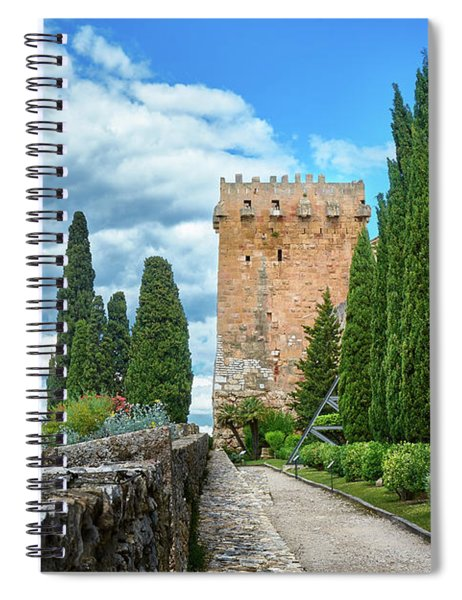 Like A Fortress In The Sky Spiral Notebook