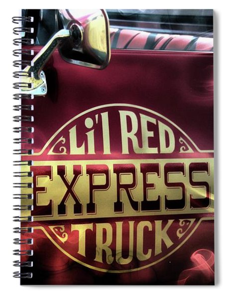 Li'l Red Spiral Notebook
