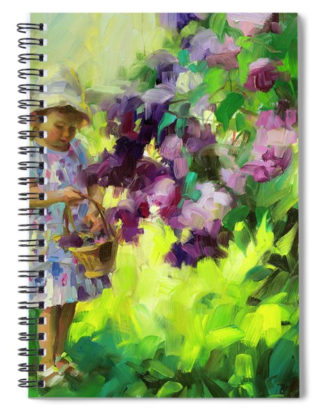 Lilac Festival Spiral Notebook