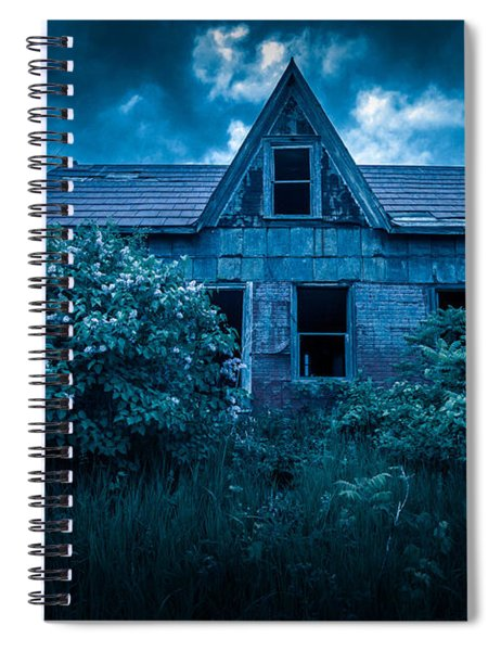 Lilac House Spiral Notebook