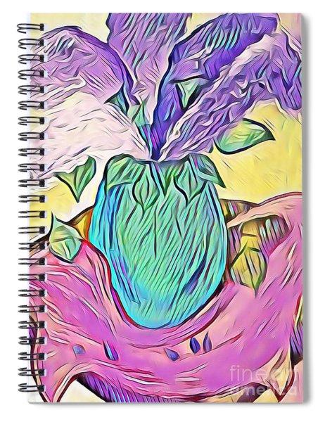Lilacs Spiral Notebook