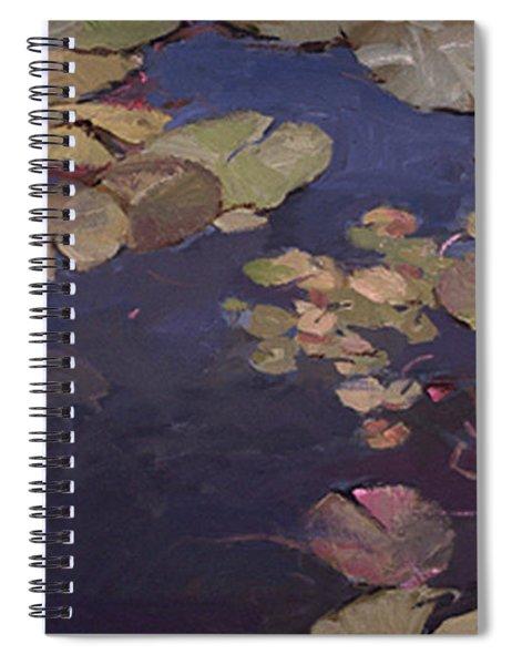 Lilies II - Water Lilies Spiral Notebook