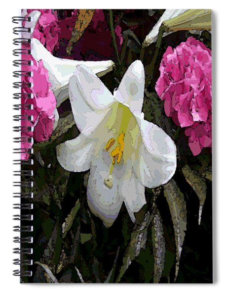 Lillie Pastel Painting Spiral Notebook