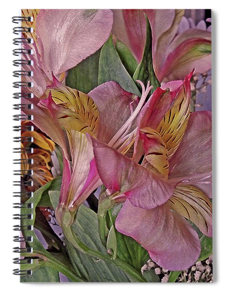 Lily Profusion 7 Spiral Notebook