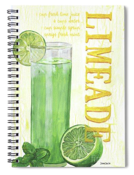 Limeade Spiral Notebook
