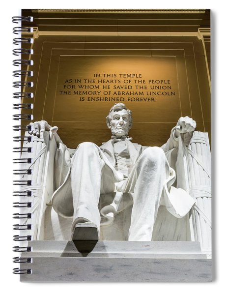Lincoln Memorial 2 Spiral Notebook