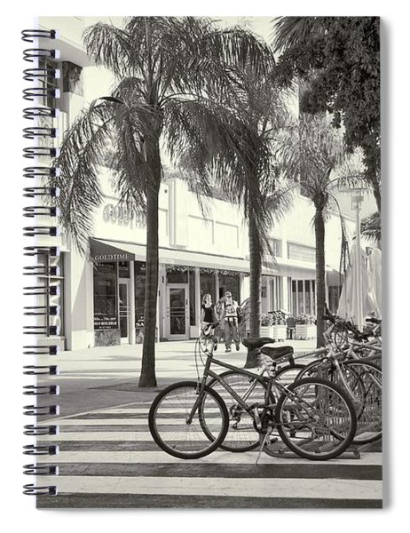 Lincoln Road Spiral Notebook