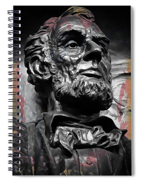Lincoln Stoic Spiral Notebook